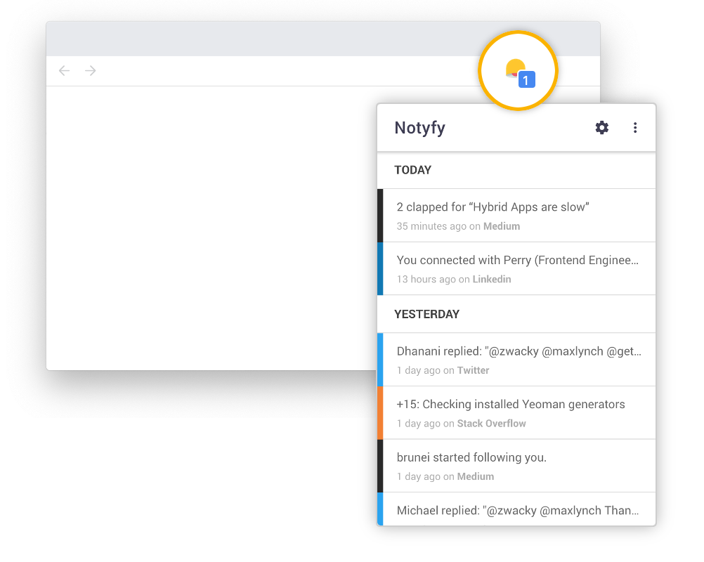 NOTYFY screenshot